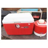 Coleman 10gal Cooler & Thermos Water Cooler