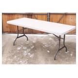 6ft LIFETIME Folding Table