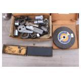 Sharpening Stone, Grinding Wheel & Puller