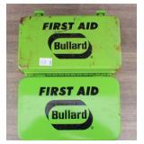 Bullard First Aid Tins with Supplies