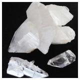 Phantom Quartz Crystals & Quartz Crystal Cluster