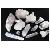 Natural Clear Quartz Crystals & Clusters