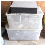 2 Tubs of Dell Computer Towers