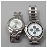 Fossil Blue 100 Meter Watch & Japan SS 40915 Watch