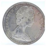 1966 Canada Silver Dollar AU