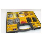 Assorted Nails & Screw Nails in Divided Organizer