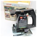 WEN 2/3 HP all SAW-Fast Cutting Power Saw