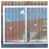 Western 71½x59½ White XO Sliding Window