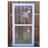 Western 26x26,15/16 White Single Hung Window