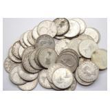 Canada 80% Silver Quarters Face Value $12.75