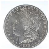 1889 S Morgan Silver Dollar  XF