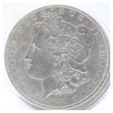 1889 P Morgan Silver Dollar  XF
