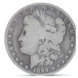 1899 O  Morgan Silver Dollar  G
