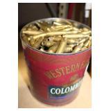 .243 WIN Brass Casings ( 2Lb 4oz Coffee Can Full)
