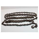 Heavy Duty 22 Ft Chain with Hooks