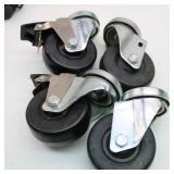 Set of 4- Standard Swivel Caster Wheels