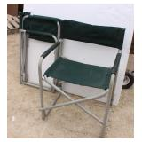Two Folding Camp Chairs