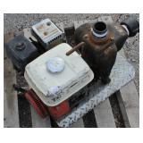 Ditch Pump w/ 5 HP HONDA Motor Gas Pump