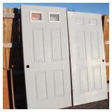 2 Exterior Doors
