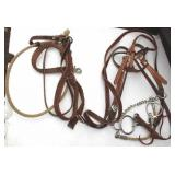 Leather Bridles & Reins