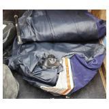 Bargain Lot: Double Air Mattress, Tent Poles