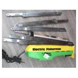 Tackle Box with Tackle & Electric Fillet Knife