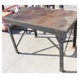 "Metal Shop Table  48"" X 30"" X 34"" Tall"