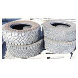 Set of (4) LT295/70R17 Off Road Tires