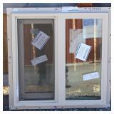 New 23½x23½ Tan XO Window