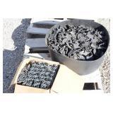 Box of Metal Brackets & Tub Plastic Parts