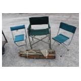 Folding Fishing Chairs, Lawn Chair & Cot