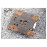 5th Wheel Plate Truck Bed Hitch