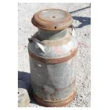 """Antique Milk Can 25"""" Tall"""