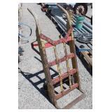 Vintage Heavy Wood & Metal Cart/Dolly