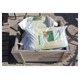 Crate of  Zamzows Recharger Winter Lawn Food
