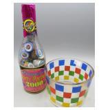 Phantom Party Poppers 2000 Commemorative Bottle