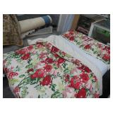 Martha Stewart Collection Floral Queen Comforter