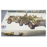 German Horch 1A Army Truck Model Kit