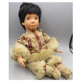 Hamilton Collection-Nica Indian Doll #2164 A