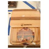 Two New Sealed Hard Wood Cutting Boards