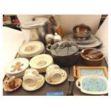 Bargain Lot: Pots, Dishes, Butcher Knives