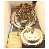 Bargain Lot: Silver Plate Serving Pieces
