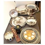 Bargain Lot: Silverplate Serving Pieces