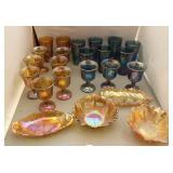 Vintage Carnival Glassware