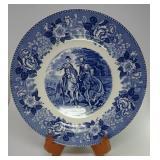 Lee & Jackson Old English Staffordshire Ware Plate