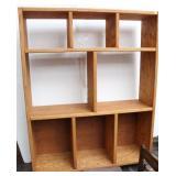 Large Oak Book Shelf/Entertainment Center