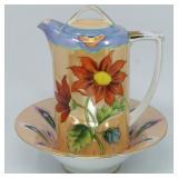 Lusterware Coffeepot & Noritake Bowl