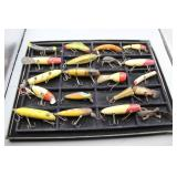 Collection of Vintage Wooden Fishing Lures