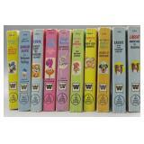(10) Walt Disney Big Little Book Cartoon Books