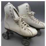 Official Roller Derby Kids White Roller Skates